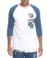 T-Shirts - HEAVY PATCHWORK RAGLAN