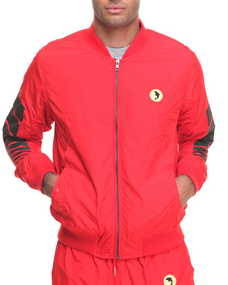 Pink Dolphin Men Speed Wind Red XX-Large