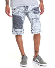 Buyers Picks - Patch Distressed Denim Short