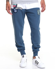 Jeans & Pants - PATCHWORK FRENCH - TERRY SWEATPANT