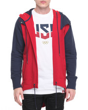 Men - Mid Weight French Terry Olympic USA Hoodie