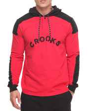 Crooks & Castles - Percy Hooded Rugby