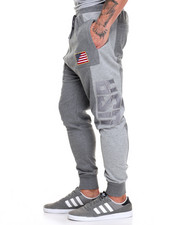 Men - Mid Weight French Terry Olympic USA Jogger