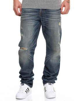 True Religion - Vintage Ripped Geno w Flap Jean