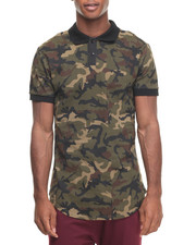 Shirts - American Stitch Woodland Camo S/S Polo