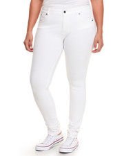Plus Size - Butty Lifter Millenium Second Skin Skinny Pant (Plus)