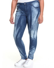 Fashion Lab - Washed Cloud Skinny Jean (Plus)