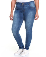 Fashion Lab - Curve Appeal Stretch Skinny Jean (Plus)