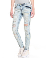 Jeans - Heavy Distructed  Skinny Jean