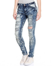 Jeans - Hotness Destructed Skinny Jean