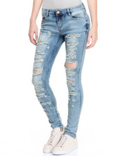 Skinny - Heavy Distructed  Skinny Jean