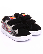 Footwear - SUEDE SUPERMAN 2 KIDS SNEAKERS (5-10)