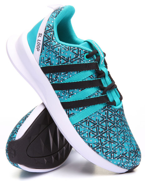 Adidas Women Sl Loop Racer W Sneakers Green 7.5