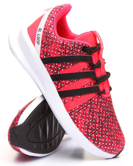 Adidas Women Sl Loop Racer W Sneakers Red 7.5
