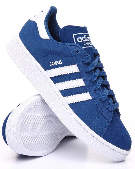 Adidas Men Campus Suede Lo Blue 9.5