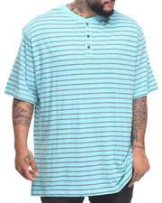 Big & Tall - Slub Jersey S/S Henley (B&T)