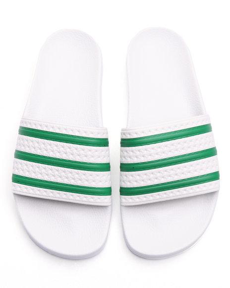 Adidas Men Adilette Classic Sandals White 10