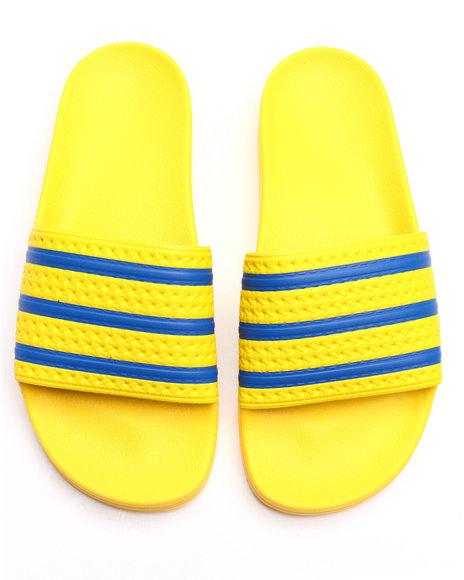 Adidas Men Adilette Classic Sandals Yellow 10