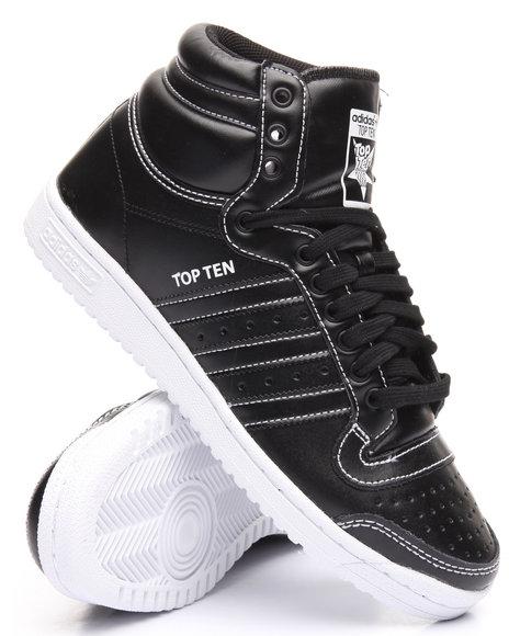 Adidas Men Top Ten Hi Black 11.5