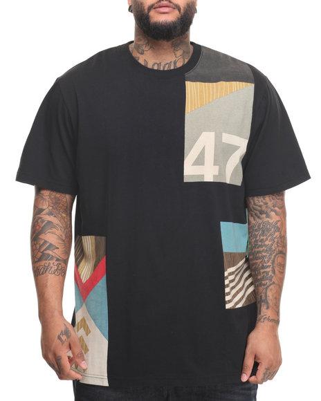 Lrg Men Paddle Team T-Shirt (B&T) Black 4X-Large