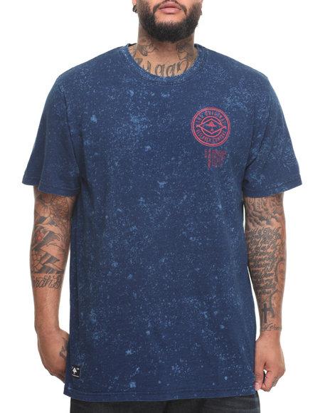 Lrg Men Snowmark T-Shirt (B&T) Blue 3X-Large