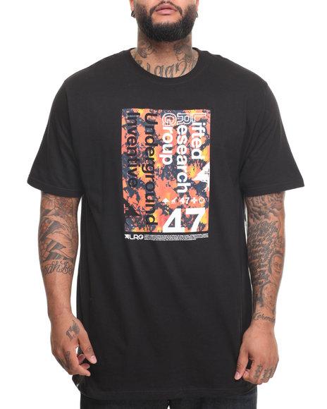 Lrg Men Underground 47 T-Shirt (B&T) Black 4X-Large