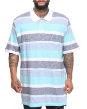Shirts - Slub Striped Polo (B&T)