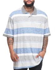 Men - Slub Striped Polo (B&T)