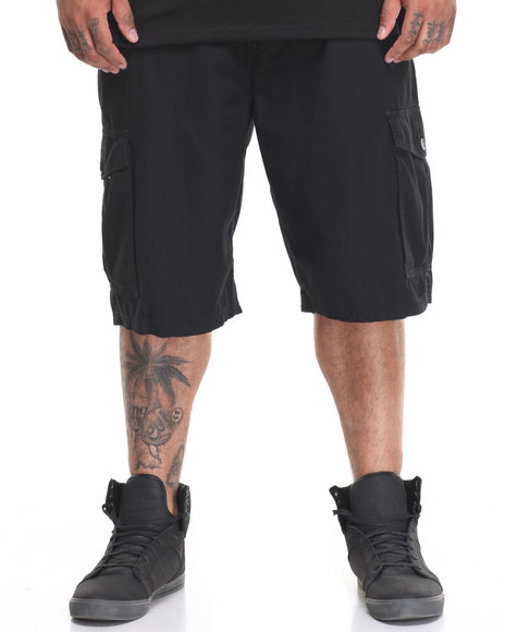 Lrg Men Rc Ts Cargo Short (B&T) Black 44