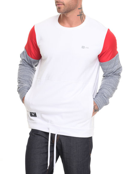 Lrg Men Panic Sweatshirt White Large
