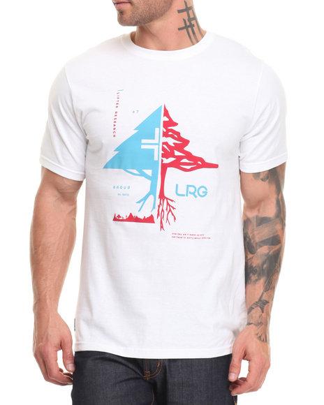 Lrg Men Natural Tactics T-Shirt White Large
