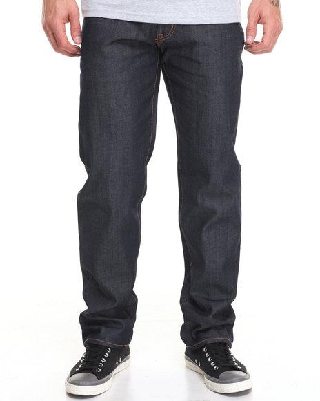 Lrg Men Core True Straight Denim Jean Medium Wash 38