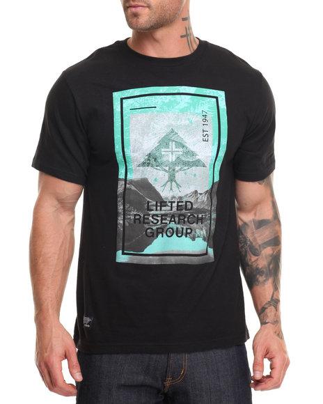 Lrg Men Stellar Scape T-Shirt Black X-Large