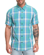 Men - RC S/S Plaid Button-Down