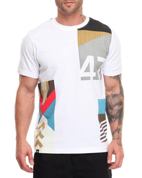 Lrg Men Paddle Team T-Shirt White X-Large