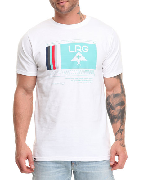 Lrg Men Wave Makers T-Shirt White Medium