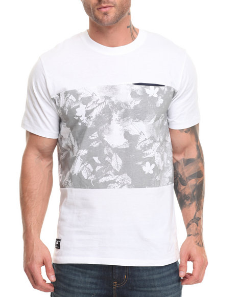 Lrg Men Terrestrial Knit T-Shirt White Small