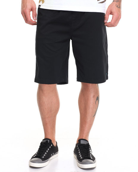 Lrg Men Rc Elastic Waist Walk Short Black XX-Large