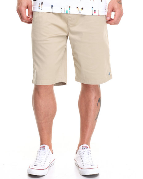 Lrg Men Rc Elastic Waist Walk Short Khaki X-Large
