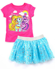Sets - 2 PC SET - MY LITTLE PONY TEE & TUTU SKIRT (2T-4T)