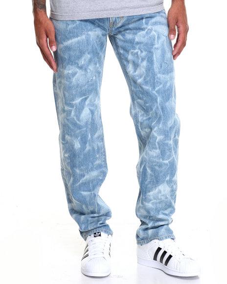 Lrg Men Core True Straight Denim Jeans Light Wash 36