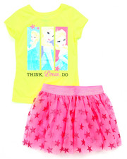 Sizes 4-6x - Kids - 2 PC SET - ELSA DREAM TEE & TUTU SKIRT (4-6X)