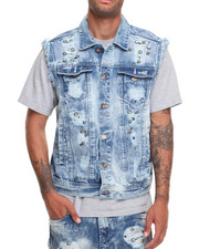 Buyers Picks - Riveted Rip - And - Repair Denim Vest