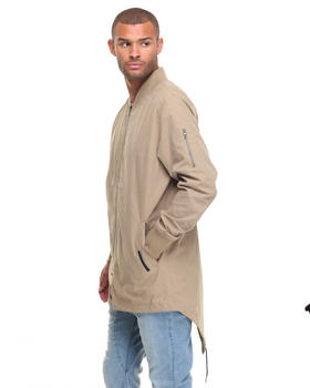 Jackets & Coats - ATEN LONG BOMBER JACKET