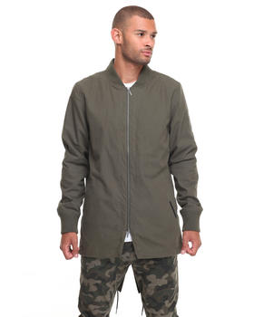 Light Jackets - ATEN LONG BOMBER JACKET