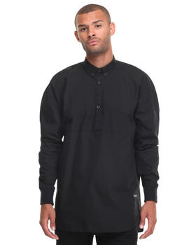 Button-downs - ZNRB PULLOVER LS SHIRT