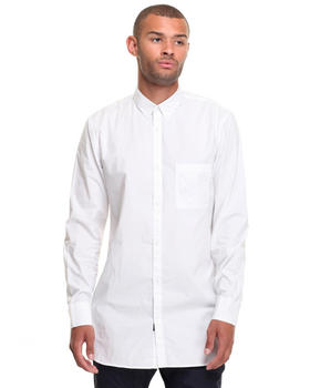 Zanerobe - EIGHT FT WHITE DITZI L/S BUTTONDOWN