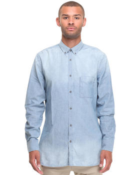 Zanerobe - SEVEN FT Washed Indigo L/S Buttondown