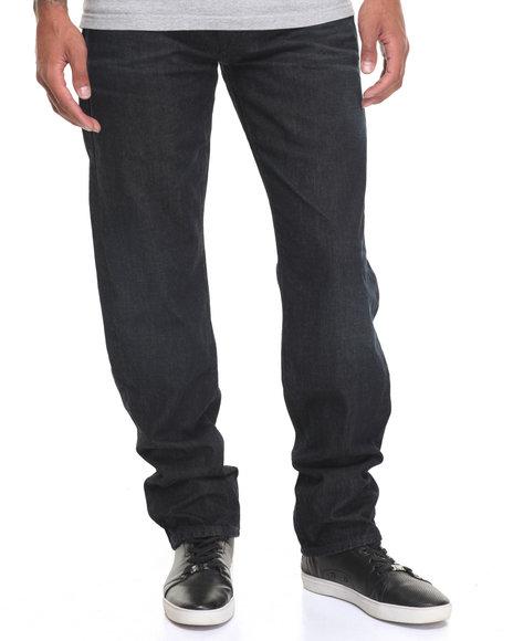 Lrg Men Core True Straight Denim Jean Dark Wash 36