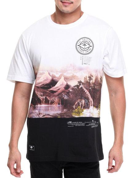 Lrg Men Sierra High T-Shirt White XX-Large